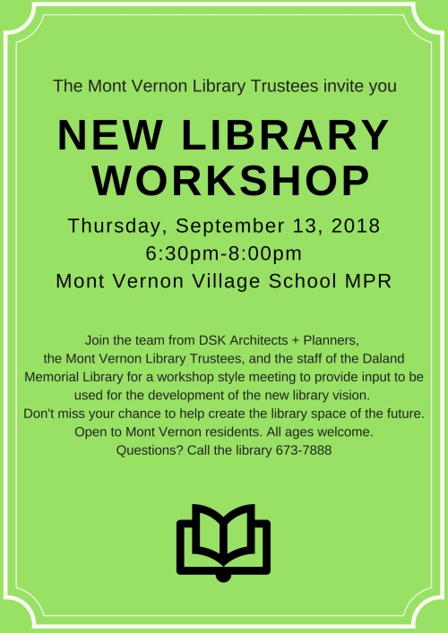 new library worshop